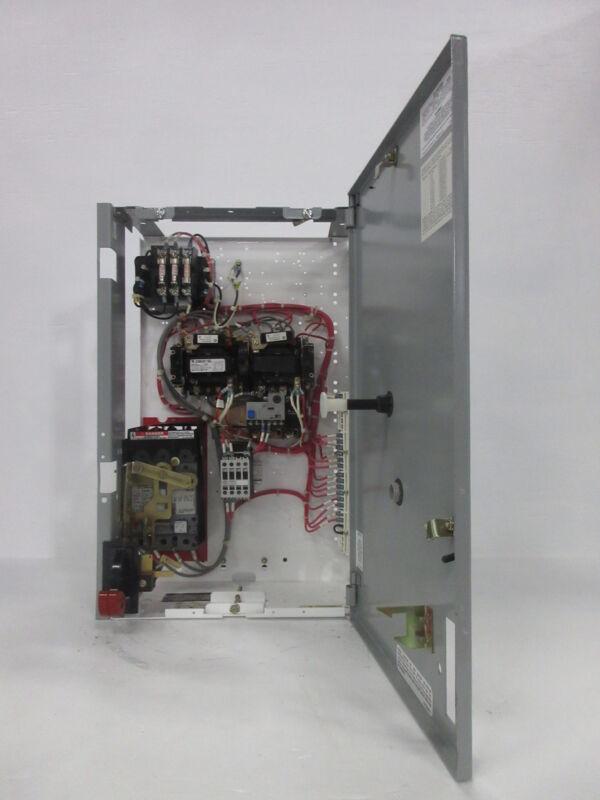 "General Electric GE 8000 24"" Reversing Size 1 Starter 7 Amp Breaker MCC Bucket"