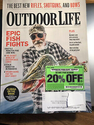 Outdoor Life Magazine Summer 2019 Epic Fish Fights Best New Rifles Shotgun & (Best New Rifles 2019)