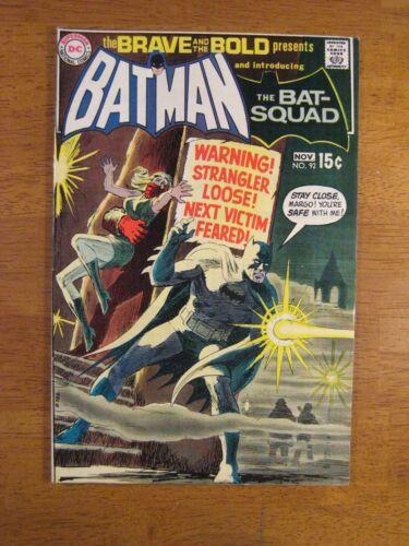 BRAVE & BOLD #92 Batman+ VF+ (8.5/9.0) Bright, Colorful & Glossy!