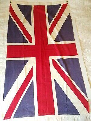 Vintage British Union Jack Flag OLD WW2? 35