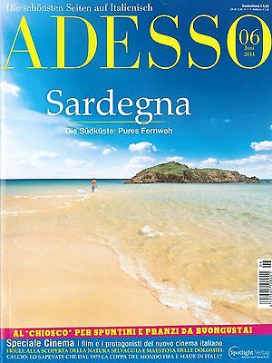 ADESSO Italienisch-Magazin, Ausgabe Juni 06/2014 inkl. evviva +++ wie neu +++