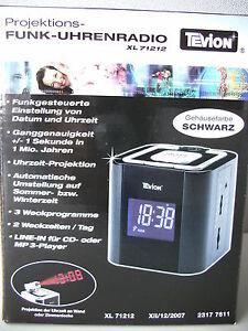Projektions-Funk-Uhrenradio XL 71212