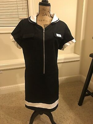 Retro 1960 Style Diner Waitress Dress XL - Retro Waitress Costume