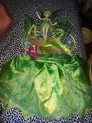 Tinkerbell Costume 4t (Disney Tinkerbell Costume Dress w Wings 3 T - 4 T Tinkerbell doll)