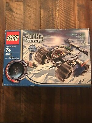 Lego 4744 Alpha Team Tundra Tracker - NIB