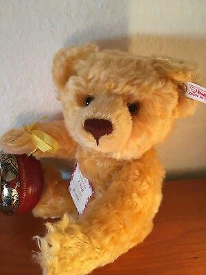 Steiff Teddybär Holland Bär 1998,Kaas Beer,32cm,Brummstimme,659959,NEU/OVP