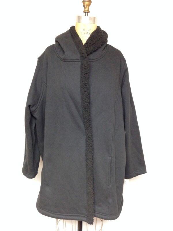 Ideology Fleece-Lined Jacket 100029164WN Black  S, XL 2X, 3X NWT