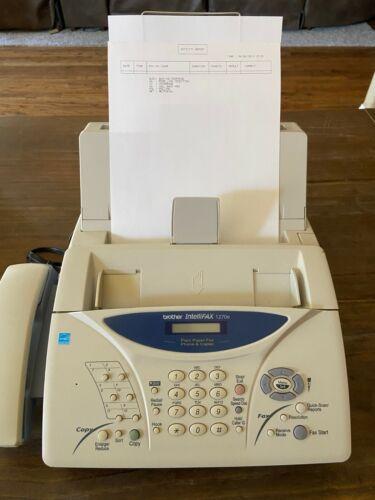 Brother IntelliFAX 1270e Fax Phone & Copier