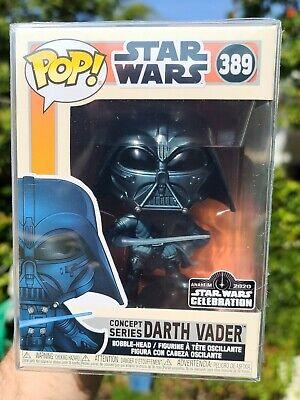 Funko POP! STAR WARS #389 Concept Series DARTH VADER Star Wars Celebration 2020