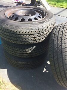 Brand new summer tires! Excellent condition!