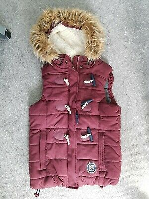 Superdry Gilet/jacket Small removable fur