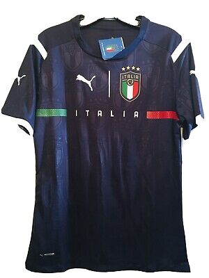 2021 Italy World Cup Qualifying soccer jersey XL
