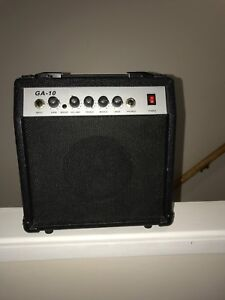 Guitar and amp together
