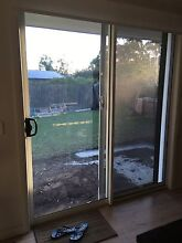 Sliding Door & Similar to a Crim-Safe style Security Screen Warriewood Pittwater Area Preview