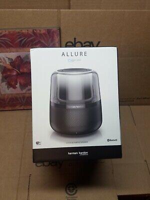 Harman Kardon ALLURE Home Voice Activated Bluetooth ALEXA Home Speaker Black NEW