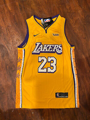 Mens Lebron James los Angeles Lakers Classics #23 jersey Size Large Edition Star