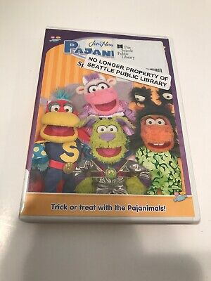 Pajanimals Jim henson Spooky Costumes Learning and Exploring - Tv Shows Costumes