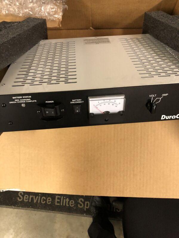 Duracom RLP-4012-BBSCLVD Rackmount 12v DC 40A Power supply,Battery Backup Option