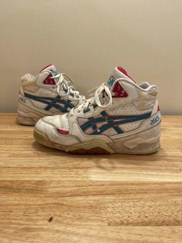 Vintage 80s 90 Asics Gel Shoes Size 8 Womens Sneakers High Tops