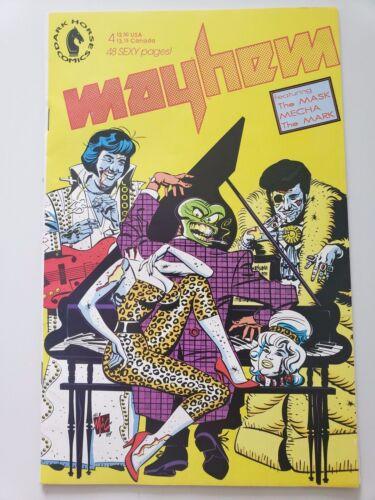 "MAYHEM #4 (1989) DARK HORSE COMICS EARLY ""THE MASK""! MITCH O"
