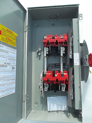 Eaton Double Throw 100 Amp Generator Transfer Switch Dt223urk-nps
