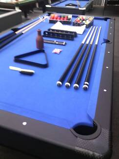 POOLTABLE 8X4FT FREE MELBOURNE DELIVERY,INCLUDES $450 ACCESSORIES Campbellfield Hume Area Preview