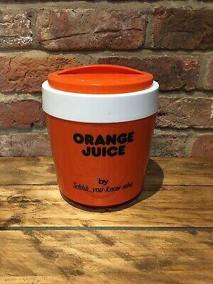 Vintage Schweppes Orange Juice Ice Bucket