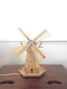 Vintage Christmas windmill lamp Mosman Mosman Area Preview