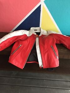 ICON Woman's Leather Motorcycle Jacket