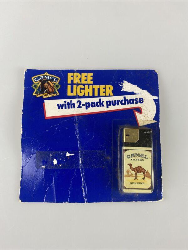 1989 Camel Cigarettes Pack Lighter on sealed Vintage