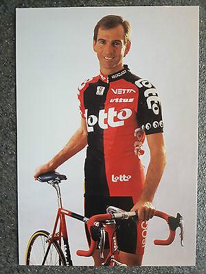 AK o.Orig.AG Marc Sergeant Team Lotto 1995 Rarität!