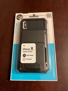 iPhone X case avec porte carte de crédits