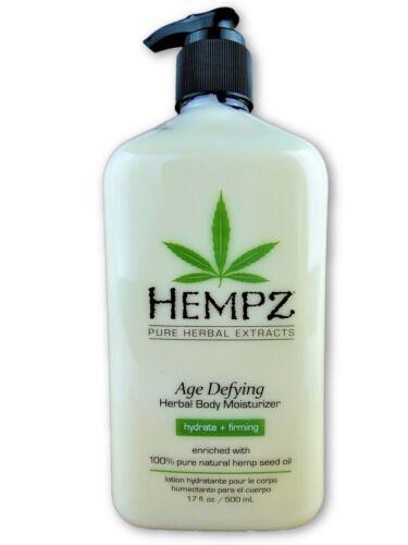 Hempz Age Defying Herbal Body Moisturizer Lotion 17oz
