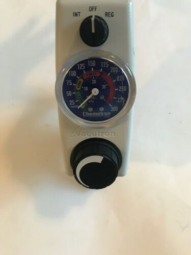 Chemtron Vacutron 22-15-1108 Continuous/ Intermittent Suction Regulator