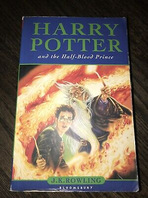 Harry Potter And The Half Blood Prince J. K Rowling International First Edition
