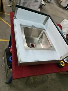 stainless steel hand basin