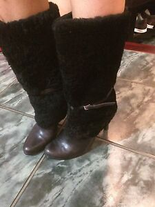 size 7 boots (GUESS and Ralph Lauren ) Kitchener / Waterloo Kitchener Area image 4