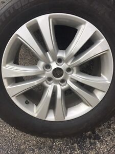 2016-2018 Lincoln MKX Winter rims and tires