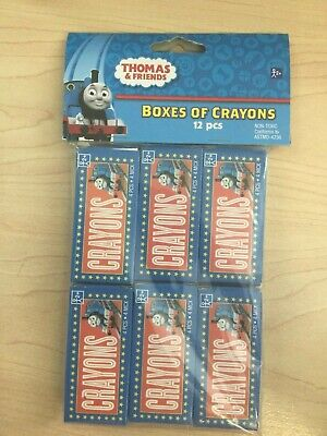 Thomas the Tank Crayons Birthday Decoration Favor Party Supply