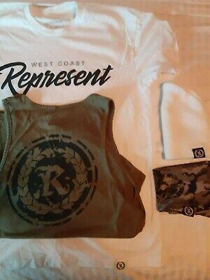 Represent ltd Nate Diaz official t shirt lot nick omerta ufc mma rephard