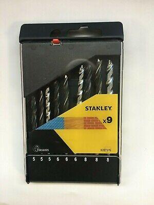 Stanley STA56005 Bohrerset Metall / Holz / Stein