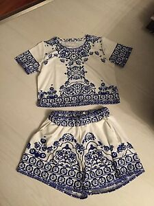 Cute two piece set (xsmall)
