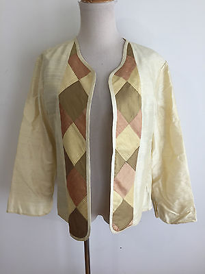 Parsa Crafts Handmade in Afghanistan Bespoke Open Cardigan Jacket Fits Like L/XL