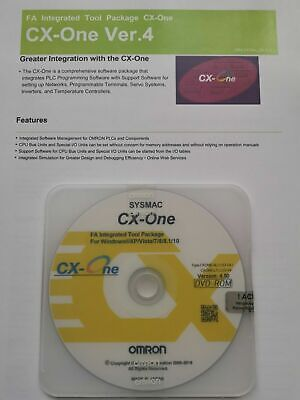 2020 Latest Omron Cx One V4.60 Plc Programming Software With Keycode Activation