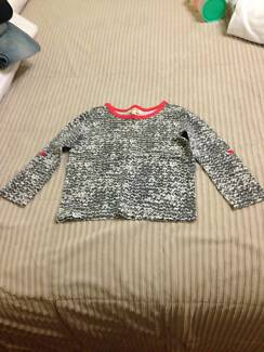Seed girls long sleeve cotton top size 2-3 Russell Lea Canada Bay Area Preview