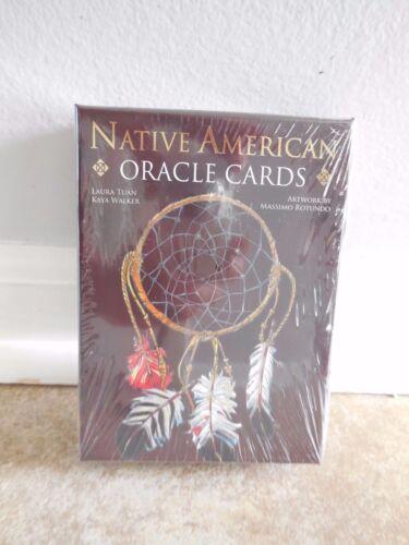 NATIVE AMERICAN ORACLE CARDS INSPIRATIONAL SPIRITUAL WISDOM BY  Massimo Rotundo