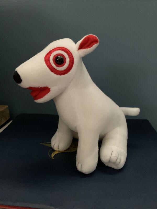 Target Bullseye Plush Dog