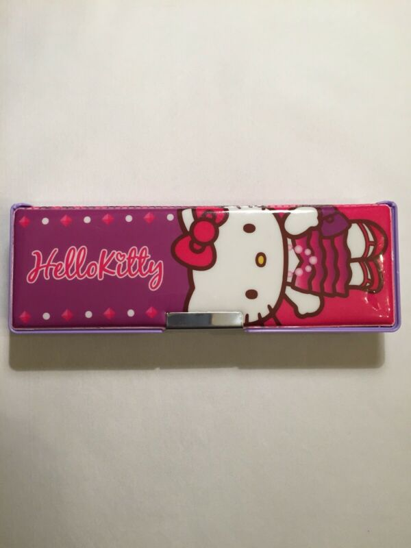 Sanrio 2013 Hello Kitty Double Sided Magnetic Pencil Box