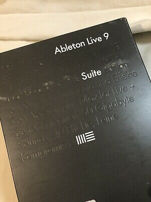 Ableton LIVE Suite 9 CD PAKET inkl. LIZENZ OVP NEU