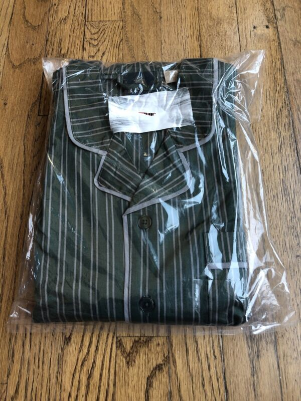Pottery Barn Teen Slytherin House Pajama Set Medium NWT Harry Potter Sold Out!